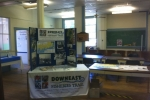 Downeast Fisheries Trail display
