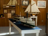 The Marine Room with Ship Models and Fishing Gear