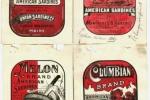 Sardine labels