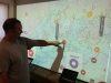 Gulf of Maine interactive wall