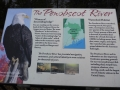 Penobscot River interpretive panel