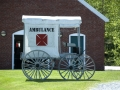 Old ambulance at Fort Knox