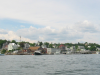 A view of Stonington's harbor