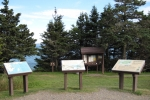 Quoddy Head State Park signs